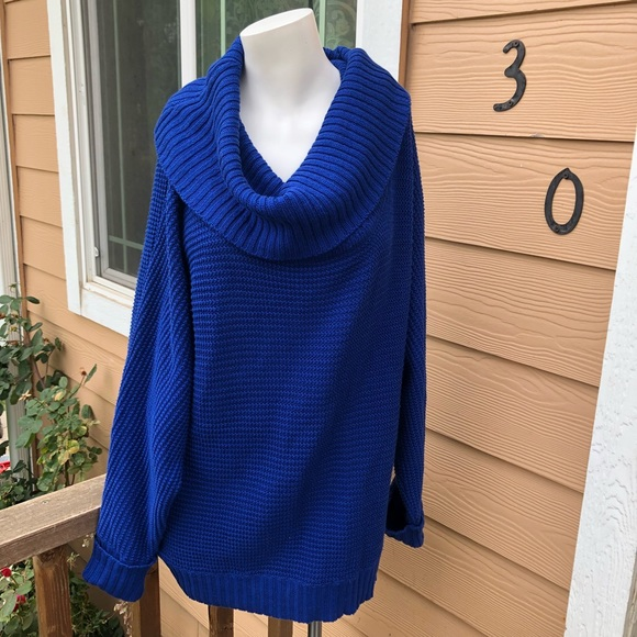 0714c41d759e4 J. Crew Sweaters - Oversized knit sweater royal blue color